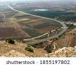 Road From Nazareth To Afula ...