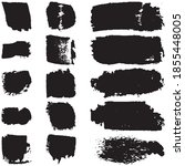 set of abstract ink spots on a...   Shutterstock .eps vector #1855448005
