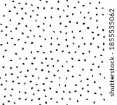 black seamless random dot.... | Shutterstock .eps vector #1855535062
