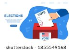 voting concept in flat style....