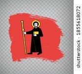 flag canton of glarus brush... | Shutterstock .eps vector #1855618072