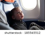 portrait of a child on the... | Shutterstock . vector #185565512
