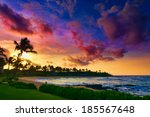 Spectacular Sunset Over A...