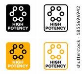 """high potency"" multi ingredient ...   Shutterstock .eps vector #1855696942"