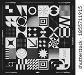 neomodern aesthetics of... | Shutterstock .eps vector #1855711915