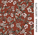 Small Lily Flowers Pattern...