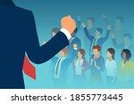 vector of a leader public...   Shutterstock .eps vector #1855773445