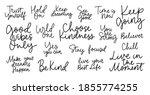 big set of hand drawn...   Shutterstock .eps vector #1855774255