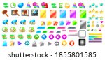 mobile video game icon assets...