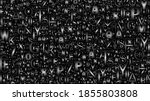 deep black seamless tiled... | Shutterstock .eps vector #1855803808