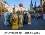 Small photo of BONN, GERMANY - SEPTEMBER 8: Exhibition of Beethoven statues during Beethoven festival on September 8, 2012 in Bonn, Germany. Famous composer Beethoven was born in Bonn.