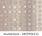 illustration with white... | Shutterstock .eps vector #1855956112
