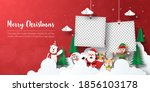 merry christmas and happy new... | Shutterstock .eps vector #1856103178