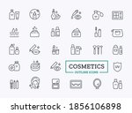cosmetic products icon set.... | Shutterstock .eps vector #1856106898