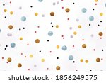colorful watercolor round... | Shutterstock .eps vector #1856249575