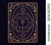 antique divine magic vintage... | Shutterstock .eps vector #1856282395