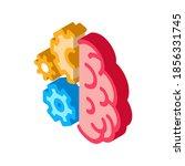 brain work mechanical gears...   Shutterstock .eps vector #1856331745