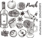 hot drinks punch recipe ...   Shutterstock .eps vector #1856349895