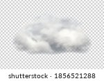 vector realistic isolated cloud ... | Shutterstock .eps vector #1856521288