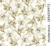 vintage floral seamless pattern ... | Shutterstock .eps vector #1856539972