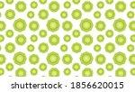 kiwi pattern wallpaper. kiwi on ...   Shutterstock .eps vector #1856620015