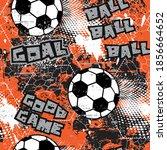 abstract geometric football ... | Shutterstock .eps vector #1856664652