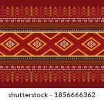 batak traditional cloth  red...