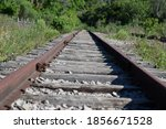 Vintage Railroad And Rusty...