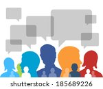 communication symbol | Shutterstock .eps vector #185689226