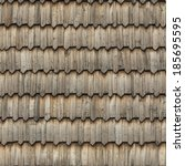 Seamless Roof Texture Of Woode...