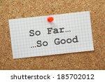 Постер, плакат: The phrase So Far