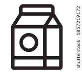 carton container icon design....