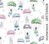 Children's Seamless Pattern On...