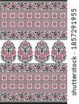 textile traditional paisley... | Shutterstock . vector #1857291955