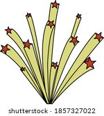 fireworks icon. editable...