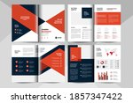 creative business brochure... | Shutterstock .eps vector #1857347422