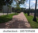 fronton and tennis court in...   Shutterstock . vector #1857359608