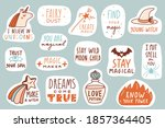 magic patches collection.... | Shutterstock .eps vector #1857364405