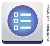 calendar icon | Shutterstock . vector #185739032