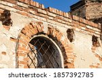 Wall And Arched Windows Of An...
