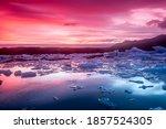 Icebergs In Jokulsarlon...