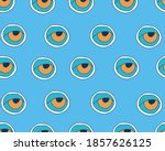 vector seamless pattern with... | Shutterstock .eps vector #1857626125