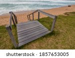 Wooden Stairs Leading From...