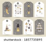 collection of tags with...   Shutterstock .eps vector #1857735895