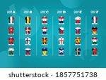 european football tournament... | Shutterstock .eps vector #1857751738