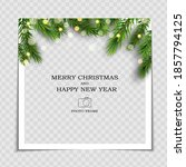 merry christmas and happy new... | Shutterstock .eps vector #1857794125