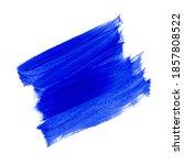 blue brush paint stroke... | Shutterstock . vector #1857808522
