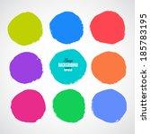 beautiful grunge design...   Shutterstock .eps vector #185783195