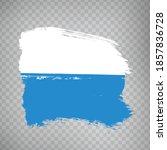 flag canton of  lucerne  brush... | Shutterstock .eps vector #1857836728