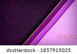 abstract purple luxury... | Shutterstock .eps vector #1857915025